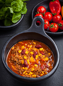 Turkey Chili with Butternut Squash