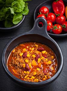 Turkey Chili with Butternut Squash