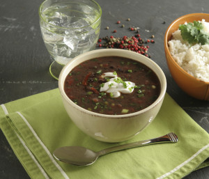 Black Bean and Barley Soup