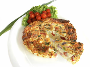 kalek-and-ham-frittata